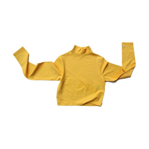 Yellow tight top ❤ liked on Polyvore featuring tops, shirts, sweaters, long sleeves, brown tops, yellow shirt, long sleeve tops, shirt tops and long sleeve shirts