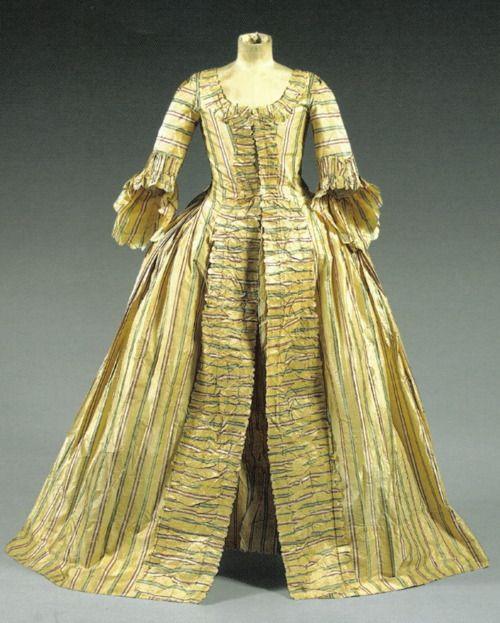 Robe A La Francaise: 17 Best Images About Fashion: 1770s On Pinterest
