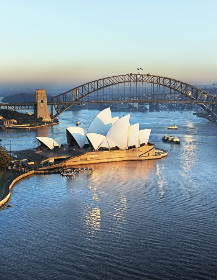 Sydney Opera House | Bennelong Point, Sydney, Australia [ ] Designed by a Dane... Joern Utzon.