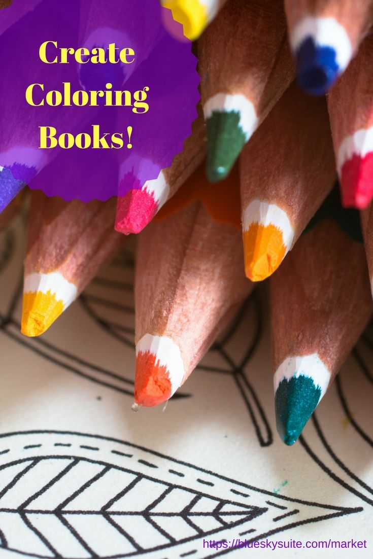 Coloring book for notability - Awesome Course To Teach You How To Make Your Own Adult Coloring Books