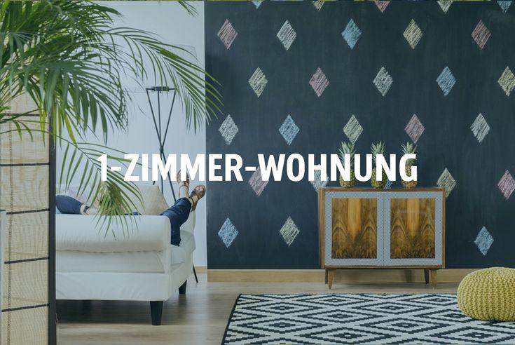 Einzimmerwohnung Clever Einrichten In 2019 1 Zimmer Wohnung …