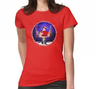 10th Doctor celebrate Christmas  Womens Fitted T-Shirts #WomensFitted #TShirts #clothing #christmas #newyearfireworks #neonlights #tardis #doctorwho #thedoctor #doctorwho #nerd #geek #funny #cool #tardis #nerdy #geeky #cover #time #vortex #timelord #badwolf #nerds #fandom #drwho #whotimetravel #british #gallifrey #gallifrean #bluebox #publiccallbox #10thdoctor #tenthdoctor #davidtennant #bluephonebox #phonebox