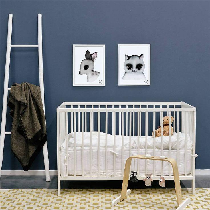 Simple nursery layout Nursery decor