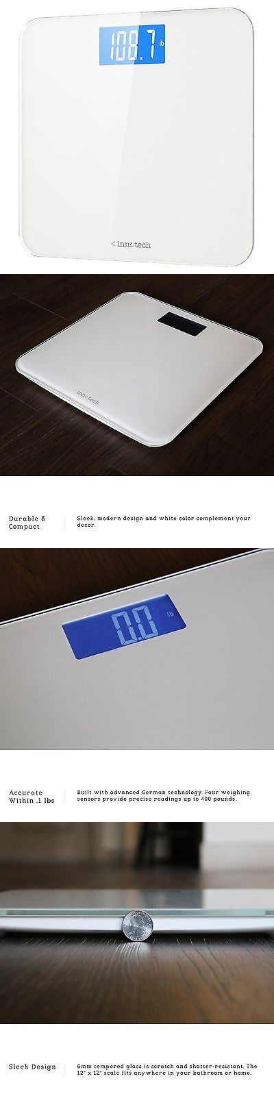 Scales 34088: Modern Bathroom Scale Automated Calibration Durable Compact Weighing Sensors -> BUY IT NOW ONLY: $36.99 on eBay!