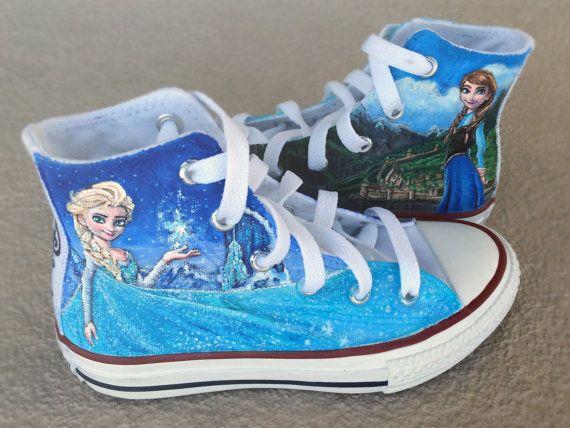 zapatos de congelados por ChromaSouls en Etsy