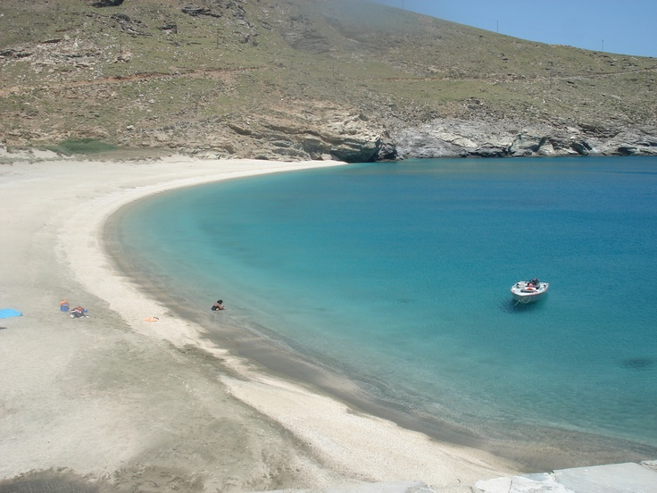 Complete solitude in Andros Greece