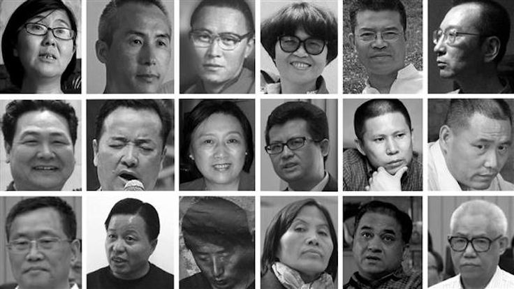 China's Long List Of Political Prisoners.
