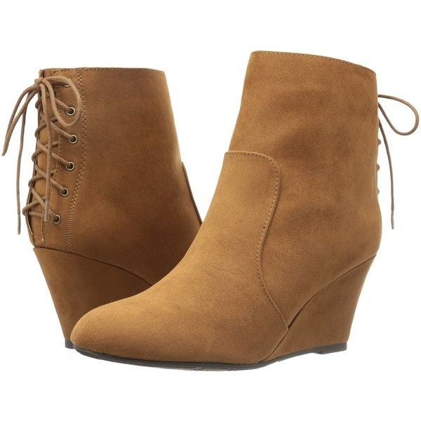 Dirty Laundry DL Go Viral (Whiksey) Women's Lace-up Boots (470 MXN) ❤ liked on Polyvore featuring shoes, boots, brown, lace-up bootie, lace up boots, short brown boots, brown ankle boots and short boots