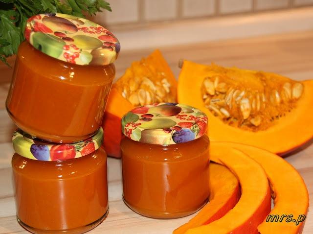 Kürbis-Apfel-Marmelade mit Cointeau