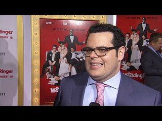 The Wedding Ringer: Josh Gad Premiere Interview --  -- http://www.movieweb.com/movie/the-wedding-ringer/josh-gad-premiere-interview
