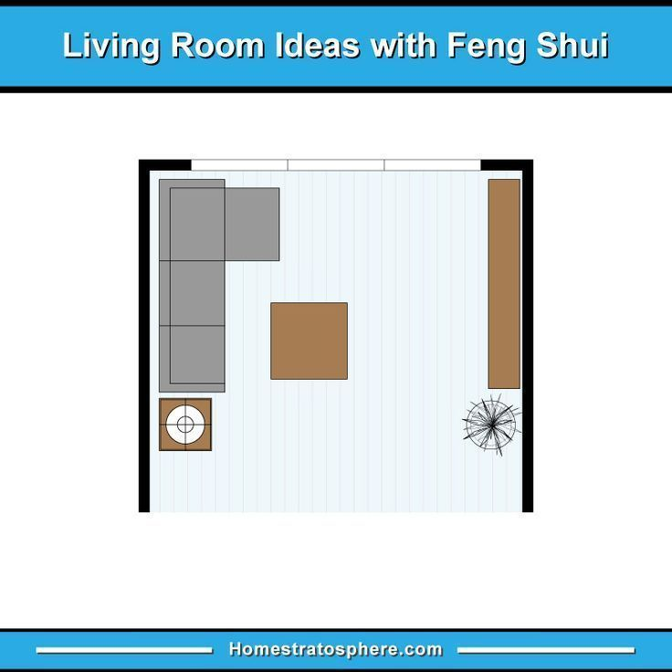 81 Feng Shui Living Room Rules Colors And 12 Layout Diagrams 2019