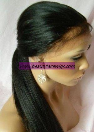cheap human hair wigs,yaki straight 100% indian remy hair for black women