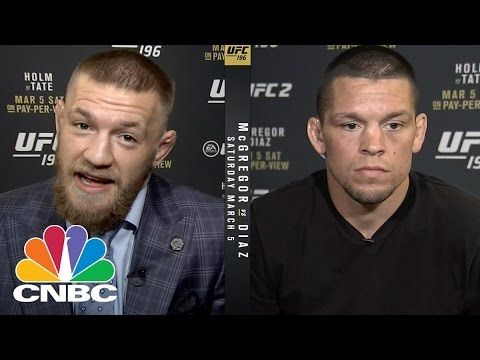 😂LOL watch!interviewer is pissed, Nate Diaz is pissed!I ❤️ Conor McGregor😍