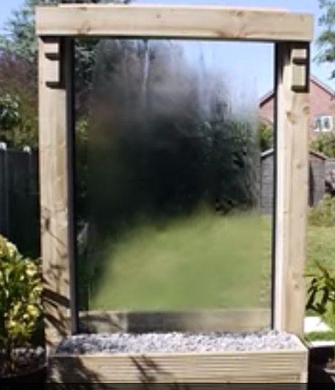 17 best ideas about water walls on pinterest outdoor for Backyard water wall ideas