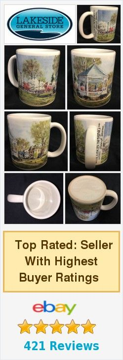 ☕️ #Hudson Spring Artist Hilary Sheeter #CoffeeMug Cup Made in USA ☕️ http://www.ebay.com/itm/Hudson-Spring-Artist-Hilary-Sheeter-Coffee-Mug-Cup-Made-in-USA-/371940748265