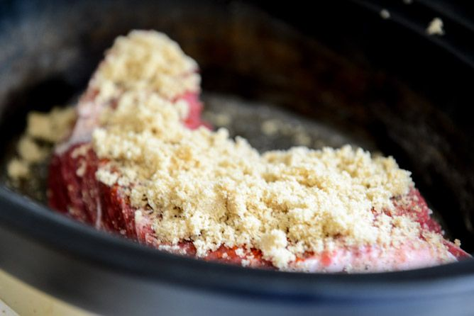 ... Sugar + Roasted Garlic Pulled Pot Roast Sandwiches I howsweeteats.com