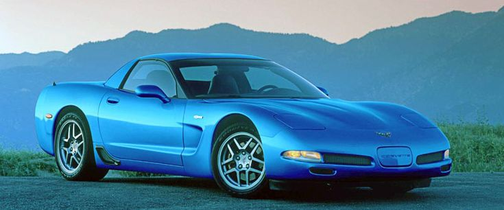 2002 Chevrolet Corvette-The front fender badge proudly announced a power upgrade for the 2002 Z06 LS6 motor: 405 hp.