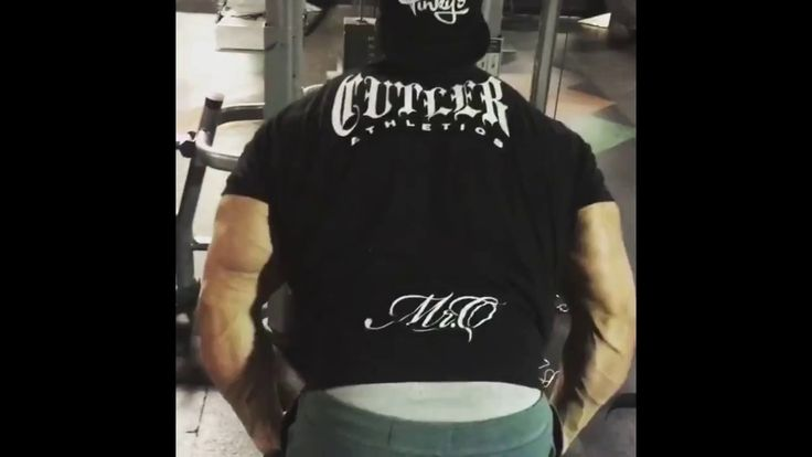 Jay Cutler - Great exercise to finish off back training this week
