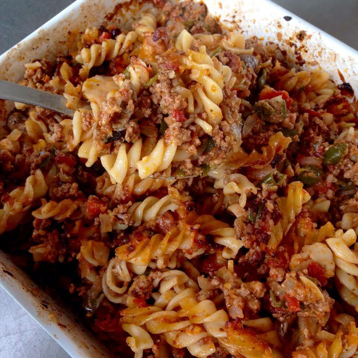 Johnny Marzetti Casserole Recipe — Dishmaps