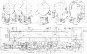 electric locomotive of a engineering diagram parts of a fish diagram 87 best railroad blueprints and drawings images on