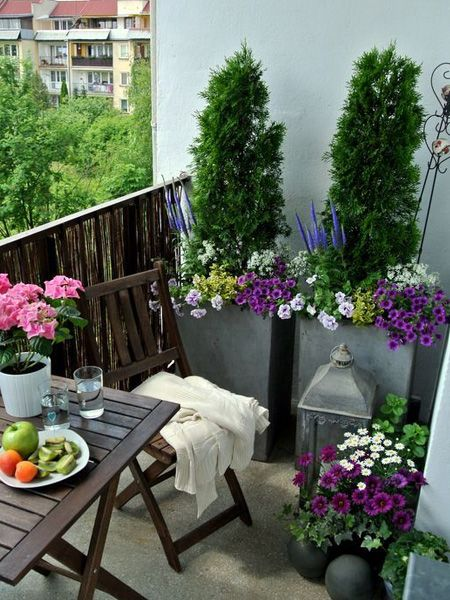 HOME DZINE Garden Ideas | Create the perfect balcony patio