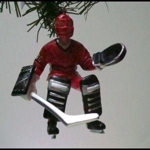 Hockey Goalie Christmas Ornament