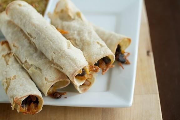 Baked Black Bean Taquitos | Recipe