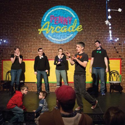 Arcade Comedy Theater - Fun & Games - Watch and have lots of laughs at the variety of comedy shows from stand-up to sketch comedy act at the Arcade Comedy Theater