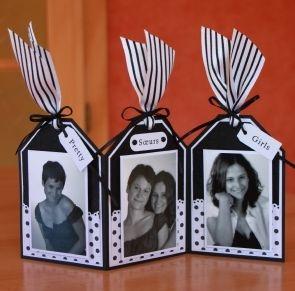 Triptyque noir et blanc tuto gratuit - Papiers & scrapbooking - Pure Loisirs