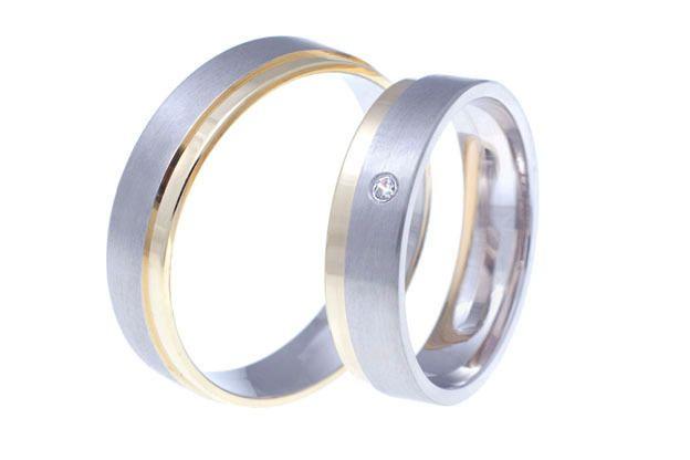Snubní prsteny - model č. 174/02
