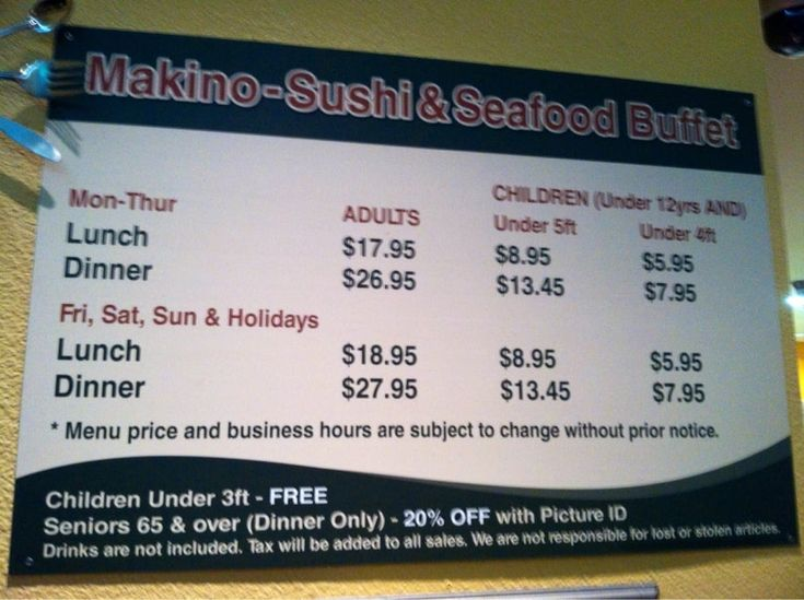 Photo of Makino Sushi & Seafood Buffet - Las Vegas, NV, United States. Cost to munch