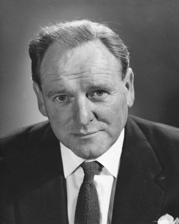 Bernard Lee (1908 - 1981) best known for his role as James Bond's boss, 'M' in the first 11 films.