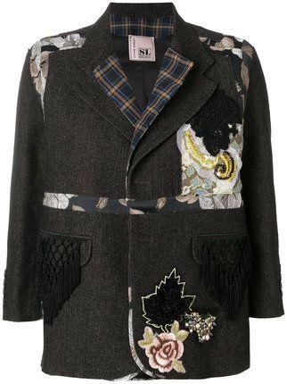 Antonio Marras куртка с нашивками