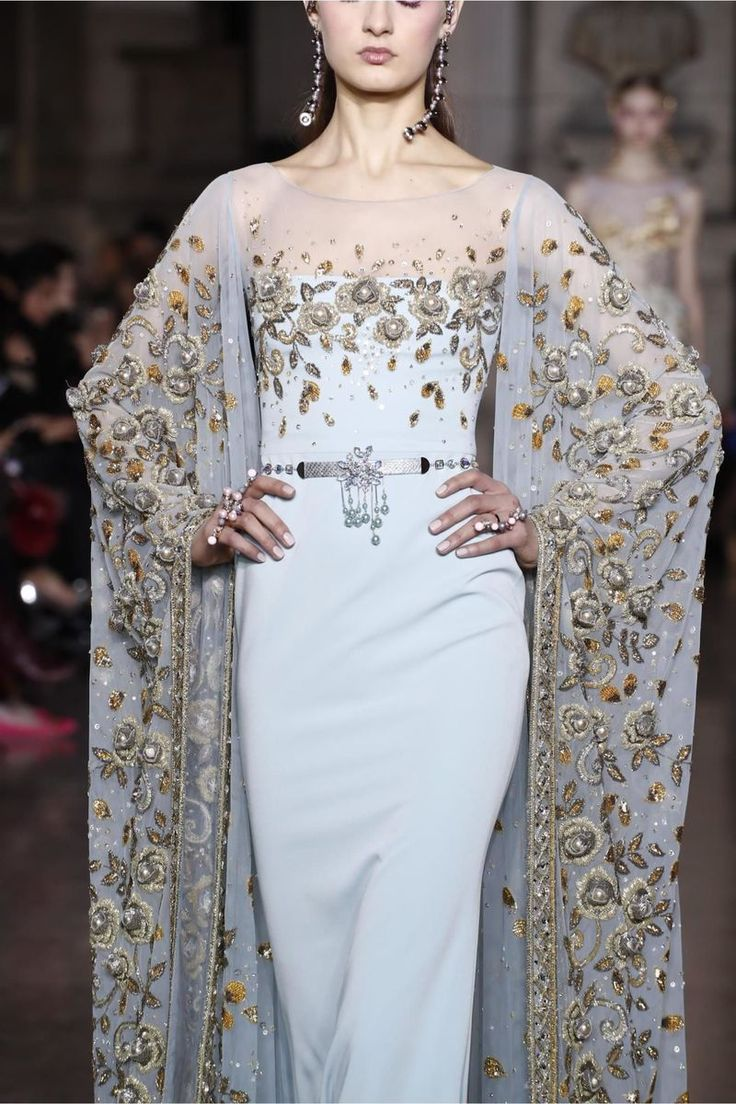 Georges Hobeika Couture Spring Summer 2017 Fashion Show in Paris