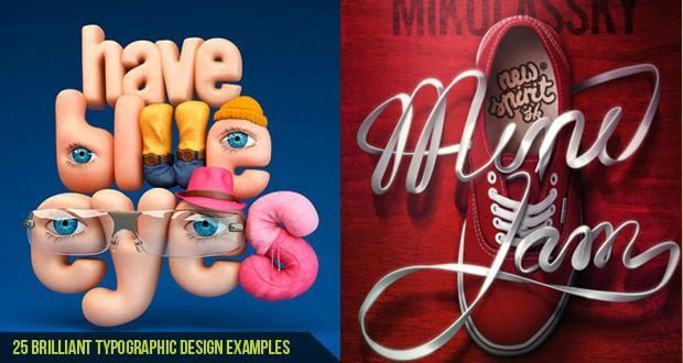 25 Brilliant Typographic Design examples  Typography is one of the most fascinating elements of graphic design. If it's web design, album art, posters, or any other type of graphic design, Read more at: http://cgfrog.com/25-brilliant-typographic-design-examples/  #Typography #DesignPoster