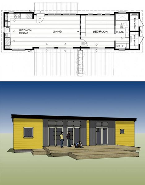 17 best images about 10 12 ft wide tiny cabins on pinterest - Ikea container home ...