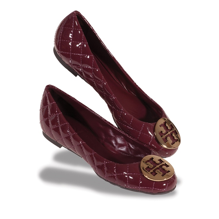 Quinn in Cabernet by Tory Burch