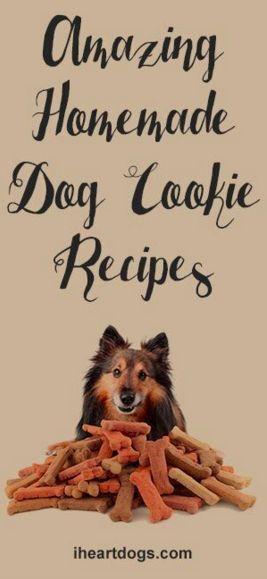 Amazing Homemade Dog Cookie Recipes