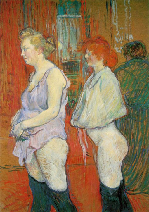 The Medical Inspection Toulouse Lautrec, 1898