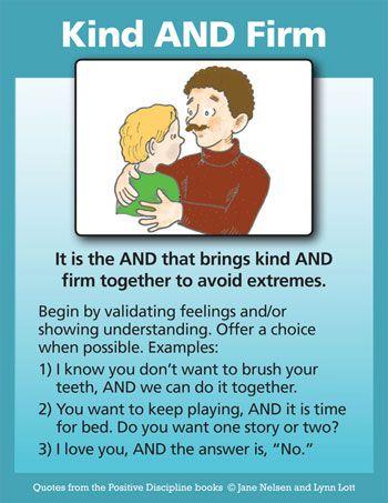 Positive Discipline: Kind and Firm Parenting