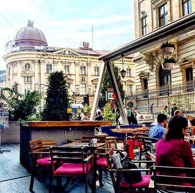 A place for relaxation - Grand Cafe Van Gogh, Bucharest Traveller Reviews - TripAdvisor