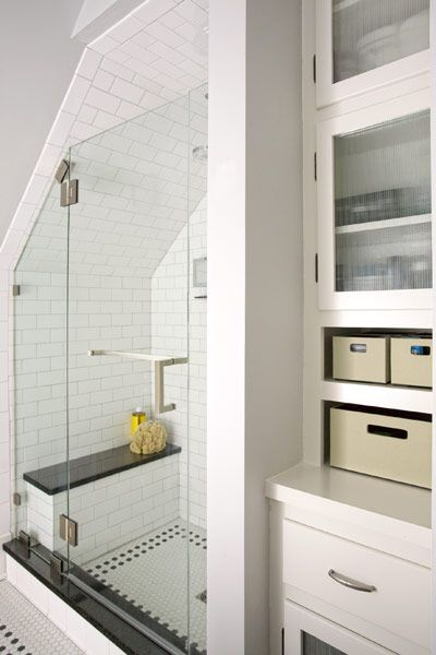 25 Great Ideas About Attic Shower On Pinterest