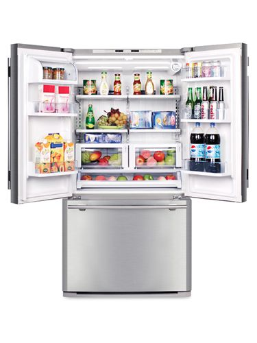 Haier's Cabinet Depth Refrigerator ($1,900), our GHRI top scorer, kept temps steadiest to help food last.