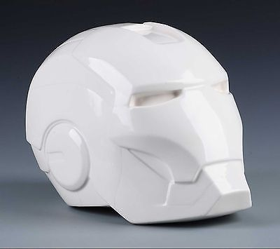 New fine ogrm #white #chinaware #china 1:1 iron man head piggy bank #decoration od,  View more on the LINK: 	http://www.zeppy.io/product/gb/2/111855943131/