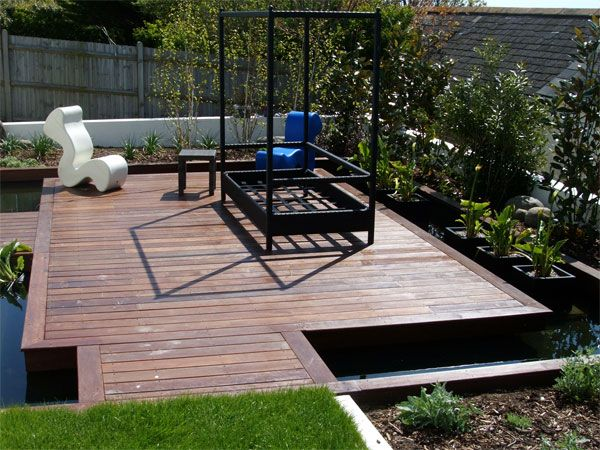 16 best images about garden decking designs and ideas on for Garden decking designs