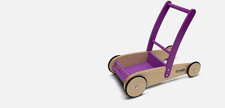 El Andador Roda es para niños que están aprendiendo a caminar y que sin la ayuda de un adulto den sus primeros pasos.