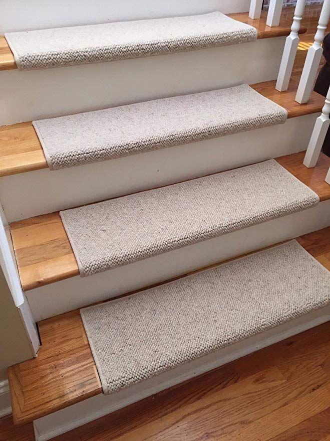 Amazon Com Alfa 100 Wool Authentic Handmade True Bullnose Padded | Plush Carpet Stair Treads | True Bullnose Carpet | Super Soft | Anti Slip | Wool Carpet | Wall Carpet