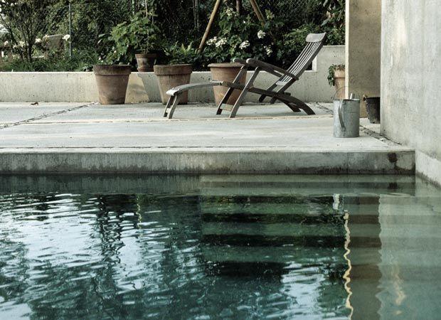 hanggarten sichtbetonpool im. Black Bedroom Furniture Sets. Home Design Ideas