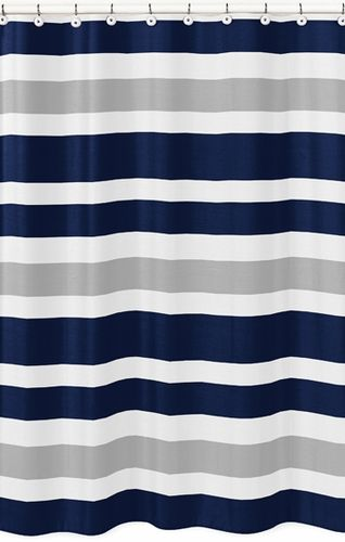 17 Best Ideas About Navy Shower Curtains On Pinterest