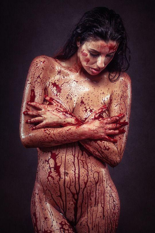 """Miss Bathory"" — Photographer: Peter Zelei Makeup: Böbe Balogh Model: Kata Purt"